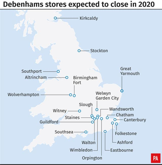 CITY Debenhams