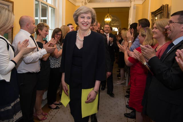 Theresa May picture gallery
