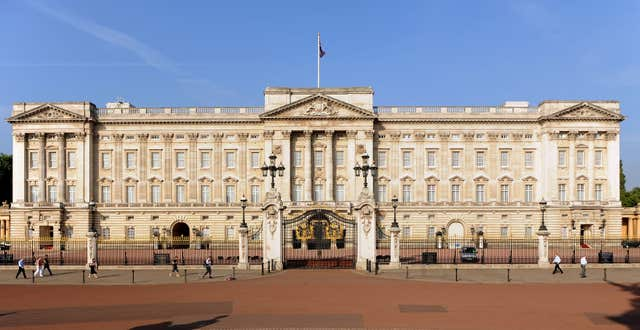 Security breach at Buckingham Palace