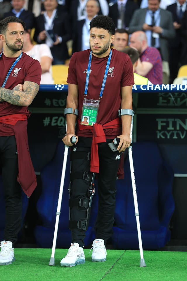 Oxlade-Chamberlain missed last season's Champions League final after a serious knee injury in the semi-final first leg against Roma