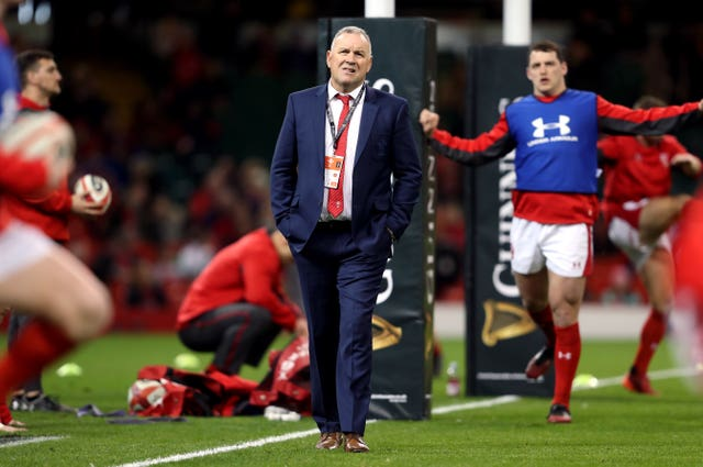 Wayne Pivac has taken over as Wales coach