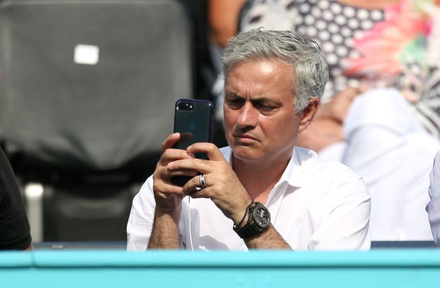 Former Chelsea and Manchester United manager Jose Mourinho