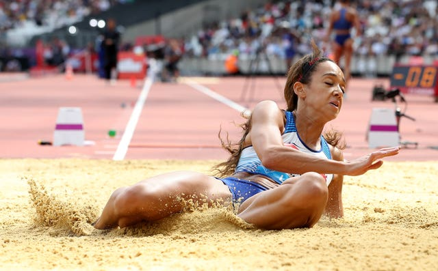 Katarina Johnson-Thompson failed to pick up a medal in the long jump