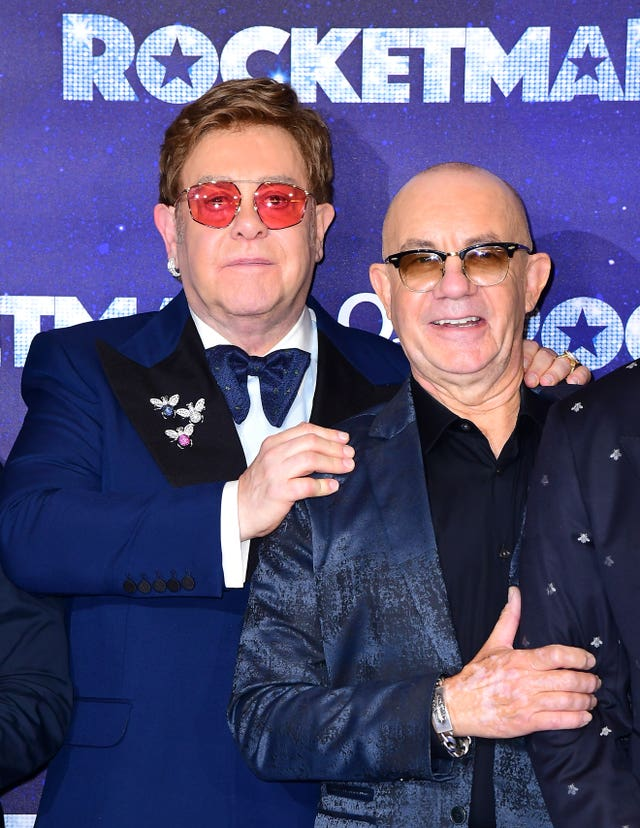 Sir Elton John and Bernie Taupin