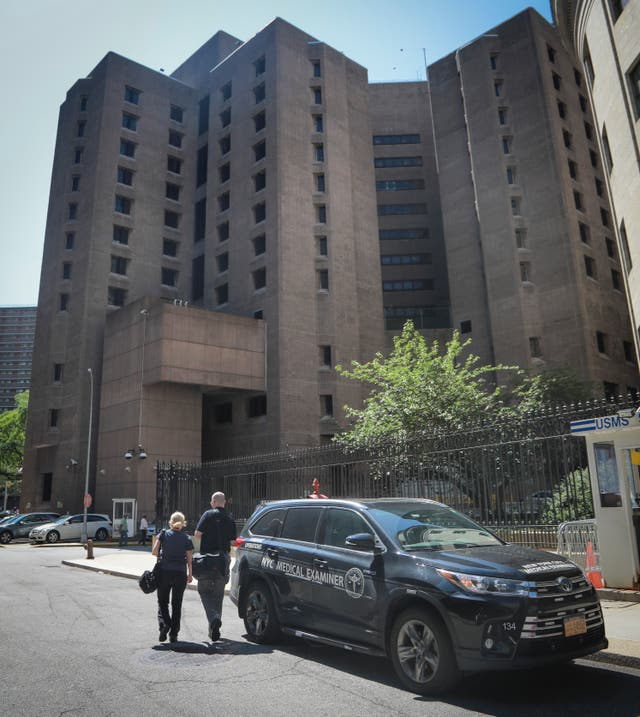 The Manhattan Correctional Centre where financier Jeffrey Epstein died