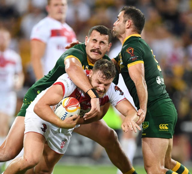 Australia v England – Rugby League World Cup – Final – Suncorp Stadium