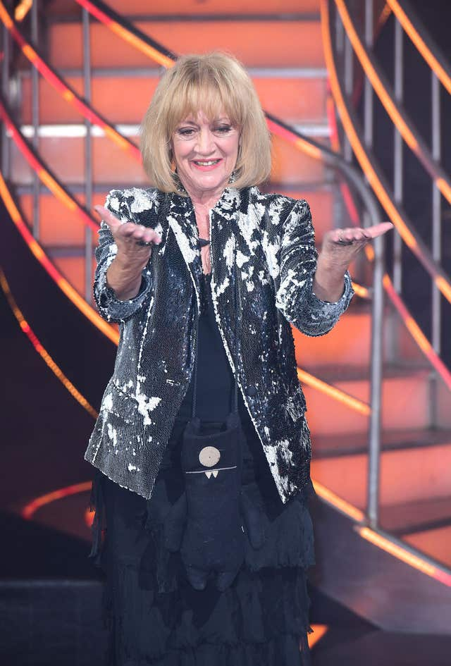 Amanda Barrie leaving Celebrity Big Brother