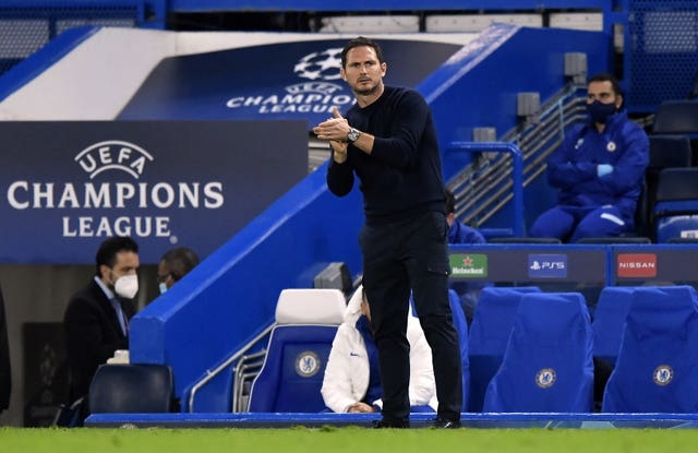 Lampard has been in charge at Chelsea since the summer of 2019 (Toby Melville/PA).