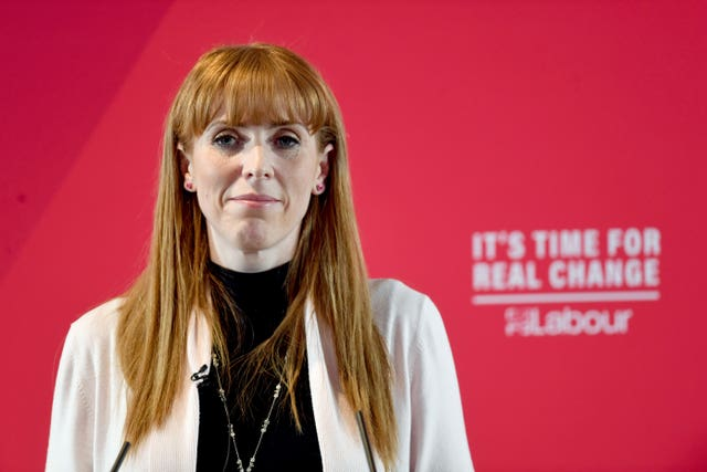 Labour's shadow education secretary Angela Rayner said her party will