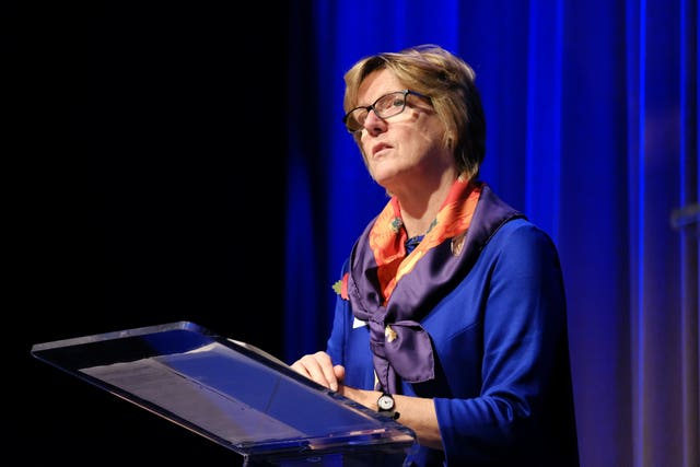 England's Chief Medical Officer Dame Sally Davies at The Huxley Summit