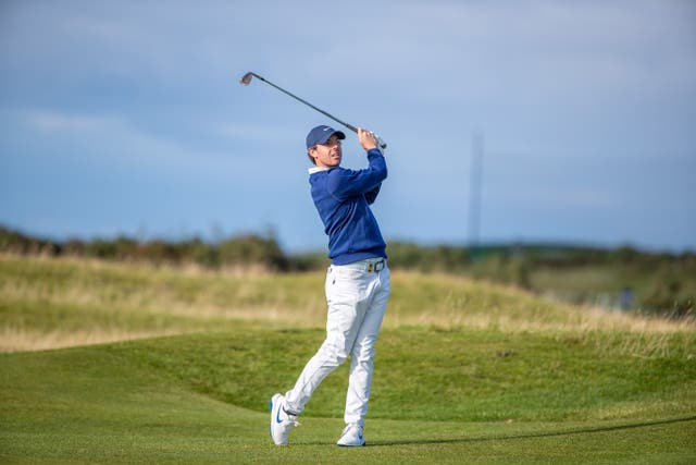 Rory McIlroy has taken time off to work on his game