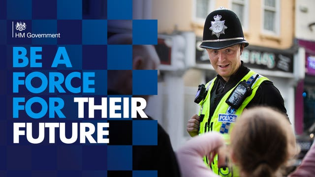 Police officer recruitment drive launched