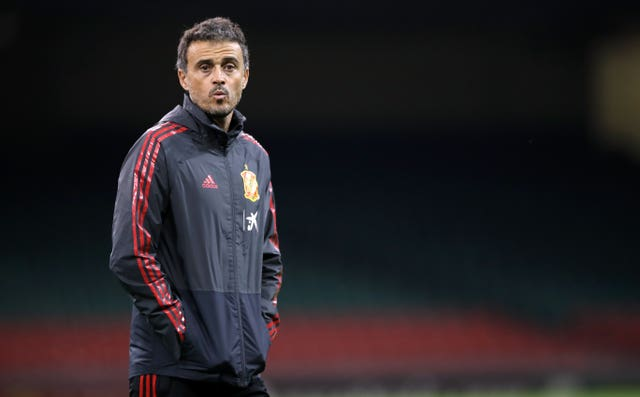 Luis Enrique stepped down as Spain manager last week
