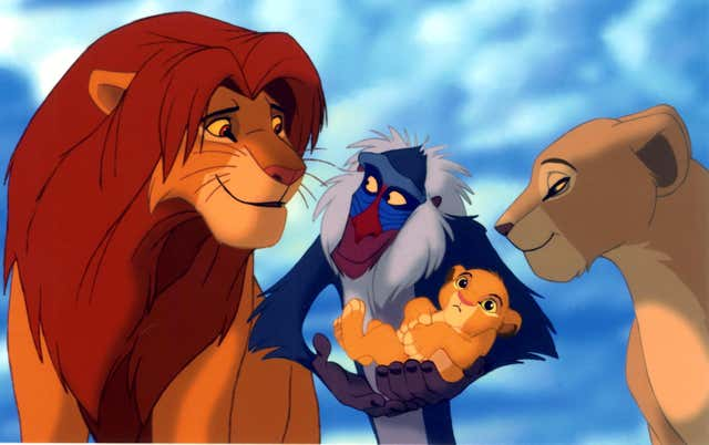 The original Lion King movie