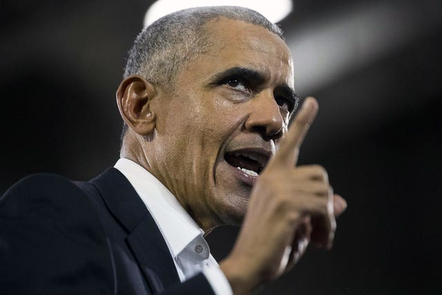 Barack Obama  Republicans and Democrats in final push ahead of US mid-term elections 2