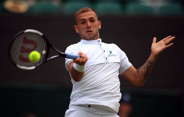 Dan Evans is into the final of the Battle of the Brits (Adam Davy/PA)