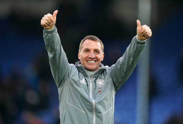Brendan Rodgers is flying high with Leicester