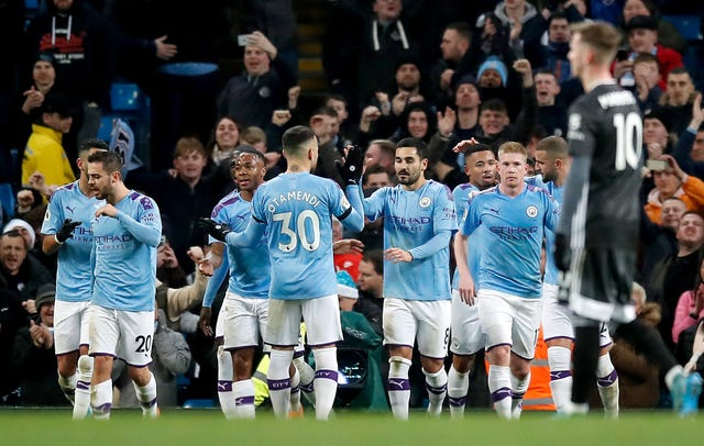 Manchester City's win over Leicester strengthened Liverpool's lead at the top of the Premier League
