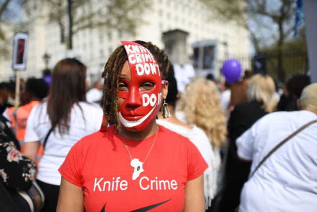 Knife crime campaigners