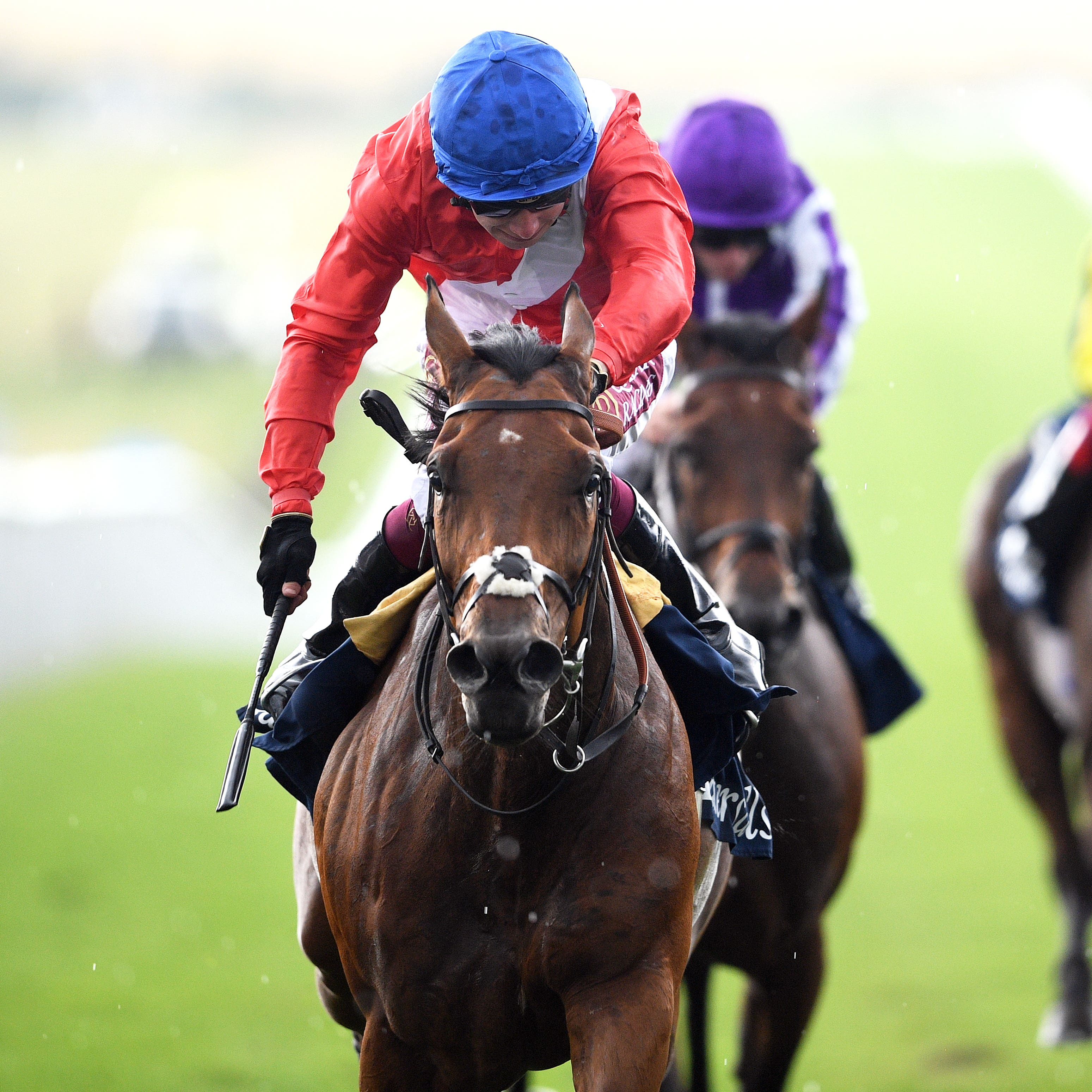 Veracious won her first Group One at Newmarket