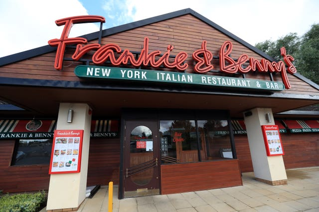 Frankie and Benny's owner announced it was going to close 125 sites
