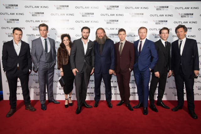 Outlaw King Premiere – 62nd BFI London Film Festival