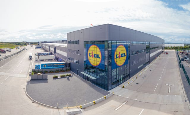 Distribution centre for Lidl