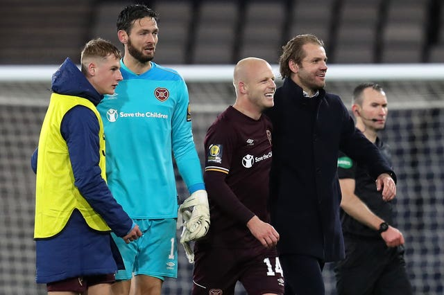 Naismith has been joined by Craig Gordon and Robbie Neilson