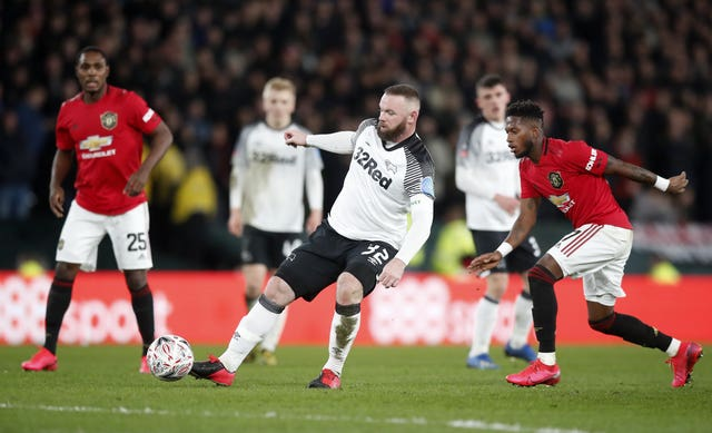 Wayne Rooney hopes to finish the season