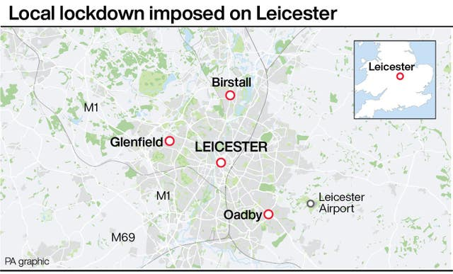 Local lockdown imposed on Leicester