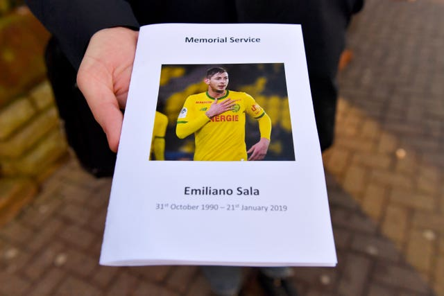 Emiliano Sala and David Ibbotson Tributes