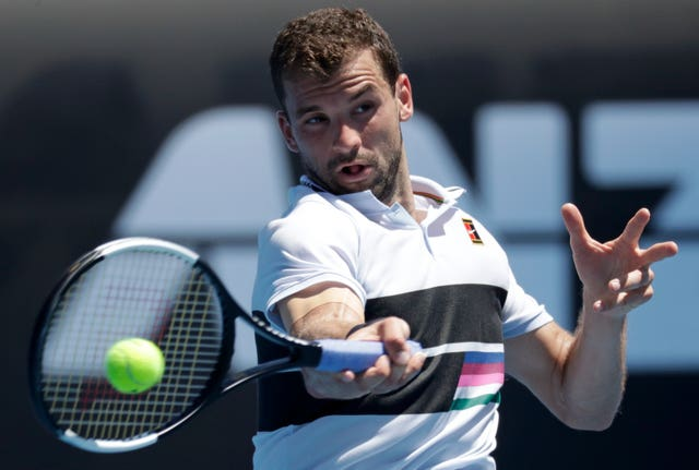 Grigor Dimitrov voiced his support for Chris Kermode