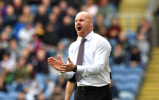 Sean Dyche's Burnley finished 15th in the Premier League last season (Anthony Devlin/PA).