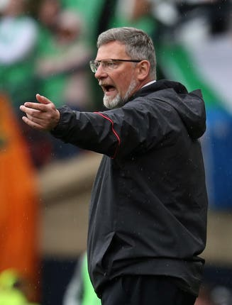 Craig Levein was unhappy with his team
