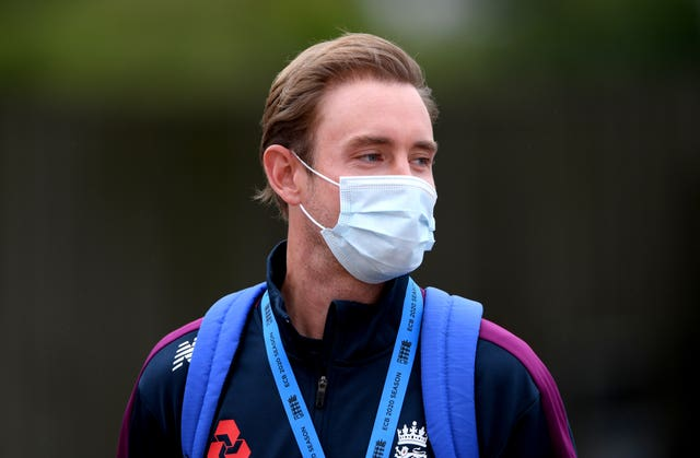 Stuart Broad was left out of the opening Test