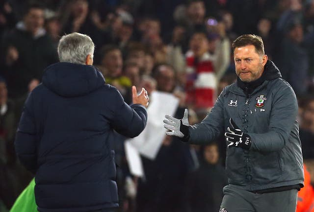 Hasenhuttl got the better of Mourinho