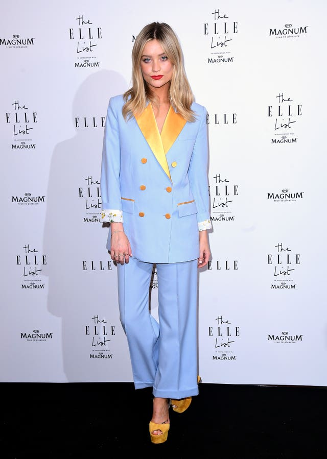 Laura Whitmore at the  ELLE List 2019 VIP Party – London