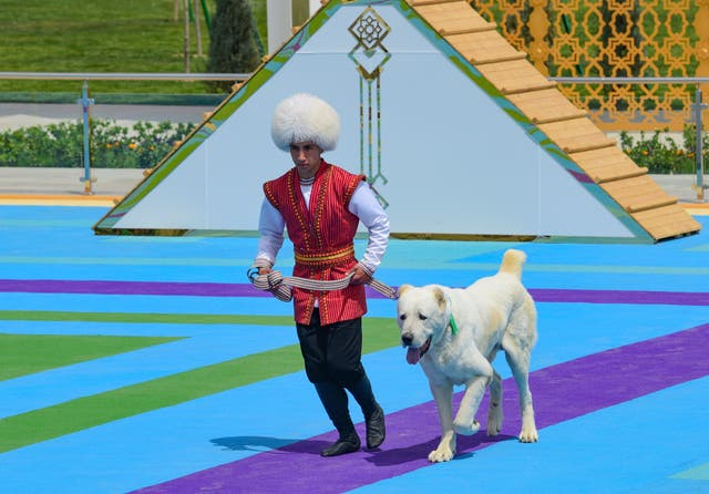 Turkmenistan Dog Day