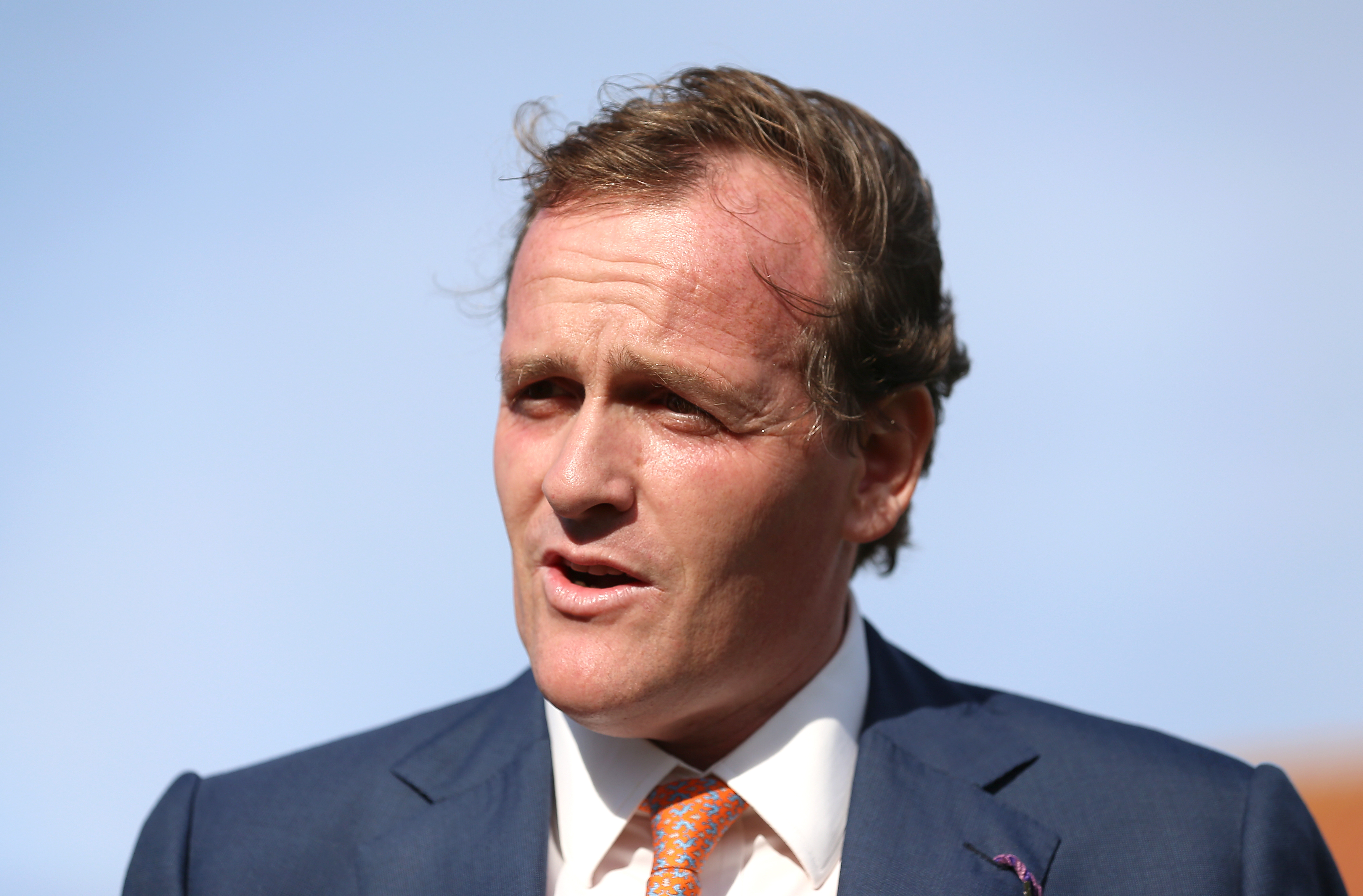 Richard Hannon expects Mystery Power to be well suited by conditions in the bet365 Superlative Stakes (Nigel French/PA)