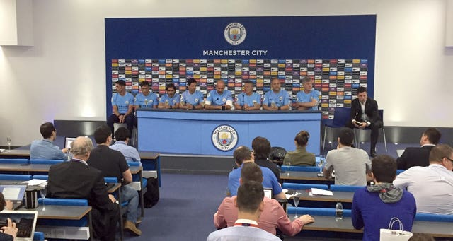 Manchester City did not hold a press conference before the home game against West Ham