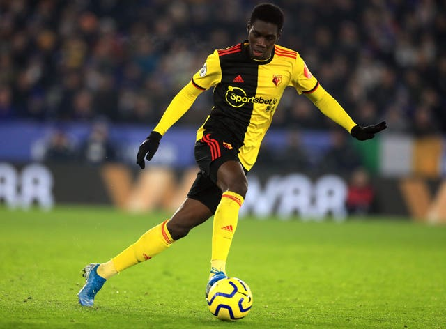 Watford's Ismaila Sarr was also a target for Liverpool this summer