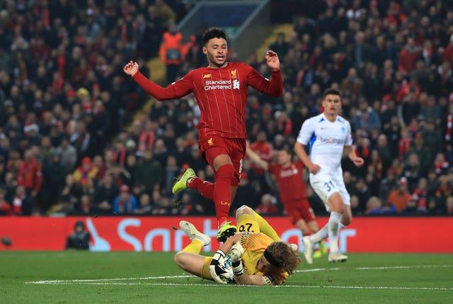 Liverpool v KRC Genk – UEFA Champions League – Group E – Anfield