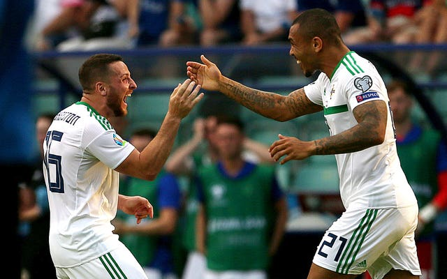 Conor Washington and Josh Magennis were on target for Northern Ireland