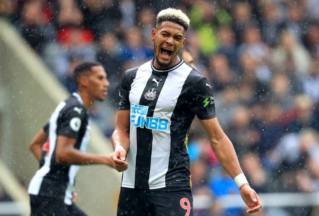 Joelinton did not enjoy a winning debut for Newcastle