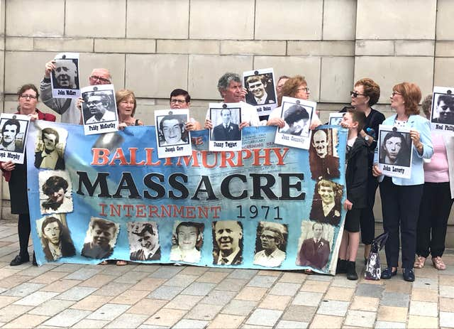 Ballymurphy protesters