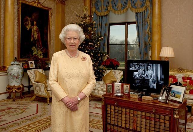 Queen's Christmas Day speech 2007 (Steve Parsons/PA)