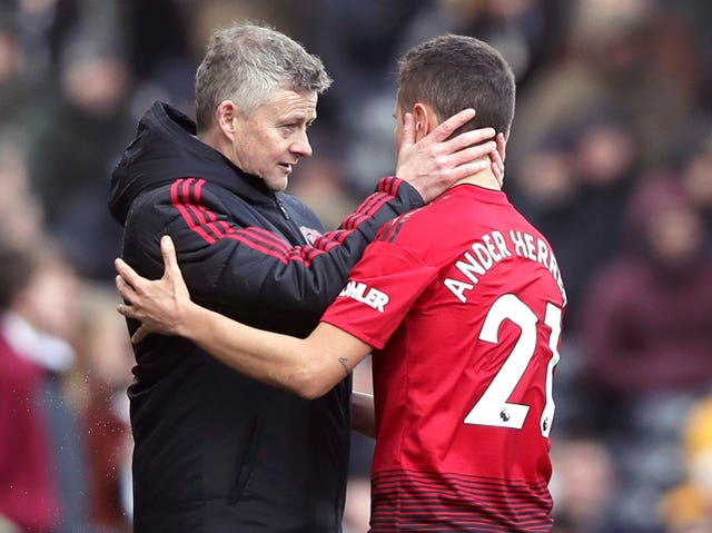 Solskjaer is likely to be saying goodbye to Ander Herrera