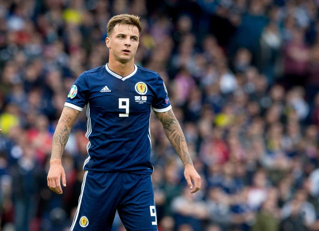 Eamonn Brophy made his Scotland debut against Cyprus