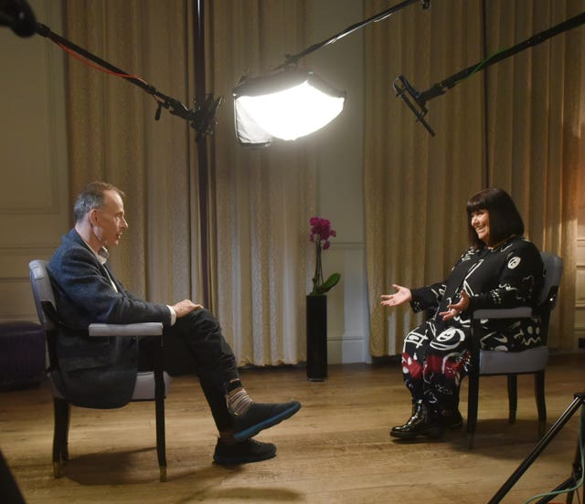 Dawn French on The Andrew Marr Show