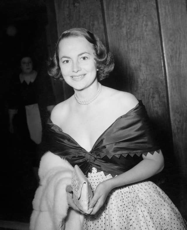 Film – Olivia de Havilland – Theatre Royal, London